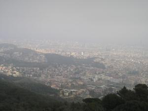 Barcelona desde Montjuïc
