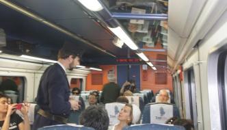 En el Tren Campos de Castilla