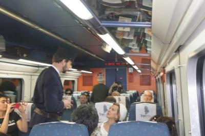 Teatralización en el Tren Campos de Castilla