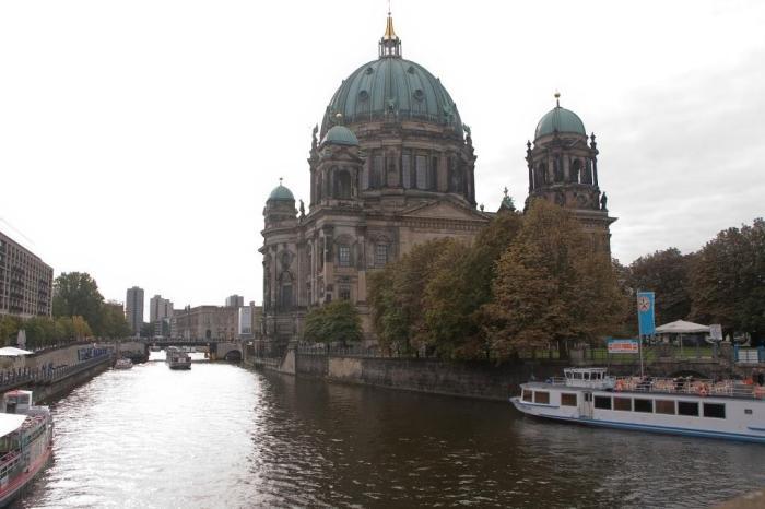Catedral de Berlín en la Isla de los Museos