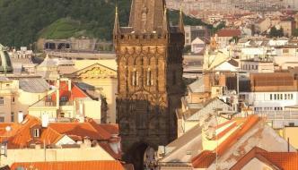 Viaje en tren a Praga