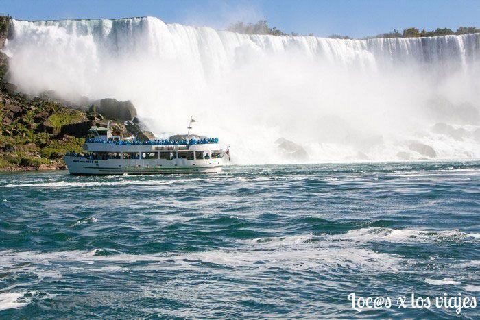 The maid of mist en Niagara Falls