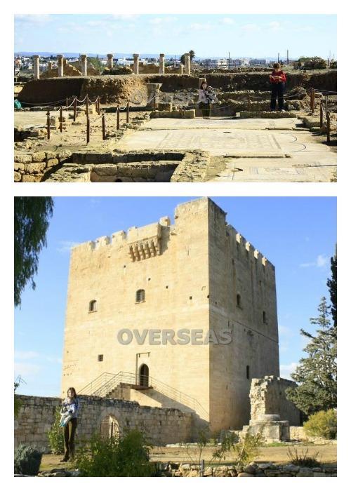 Lola de Overseas y su hijo en Chipre