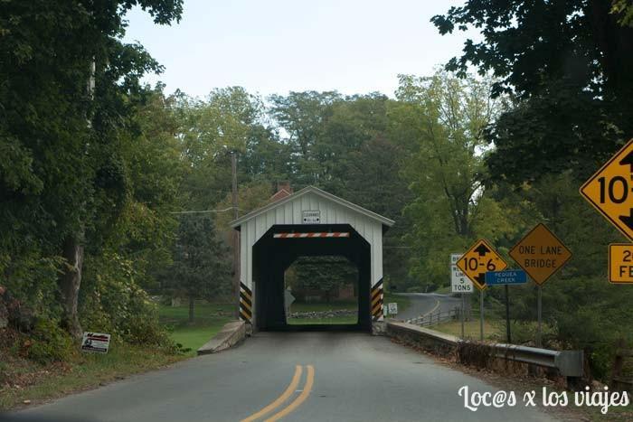 Condado de Lancaster: Puente Cubierto
