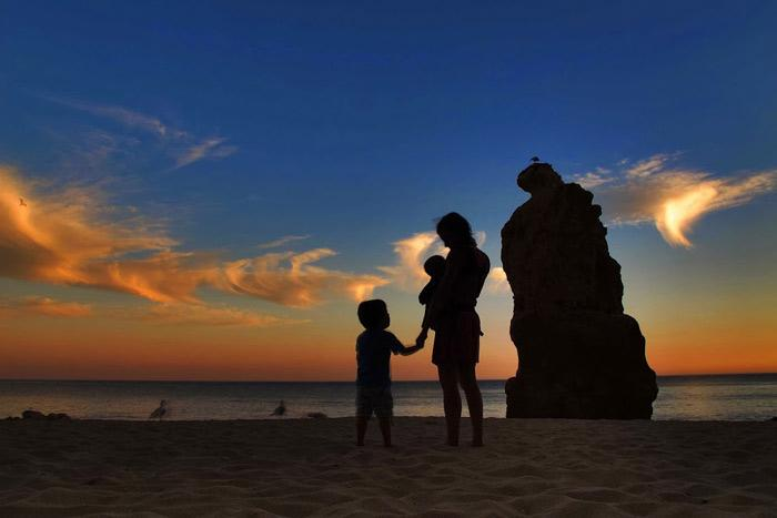 La familia de Naturaleza y Viajes en el Algarve