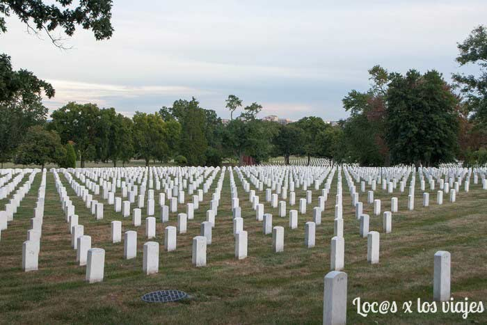 El Cementerio Nacional de Arlington
