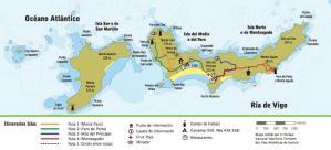 Rutas de senderismo Islas Cíes