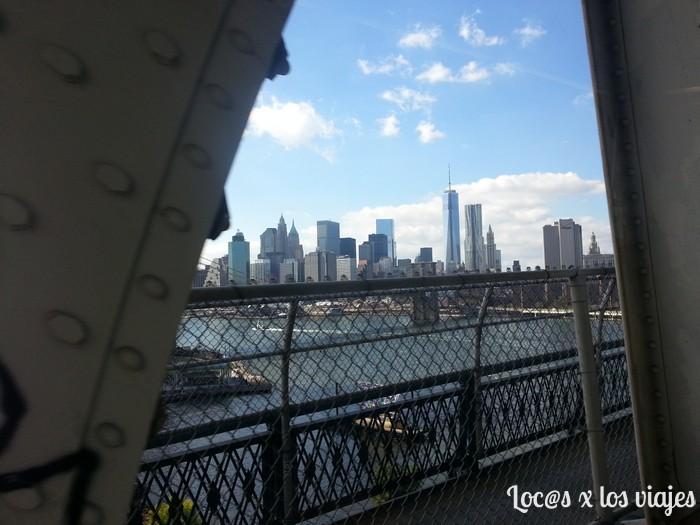 Nueva York desde el puente de Manhattan