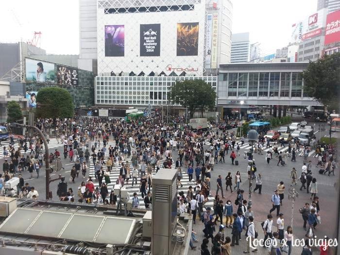 Cruce de Shibuya de Tokio