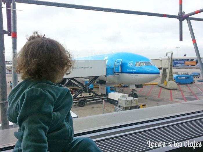 Esperando a embarcar hacia Japón