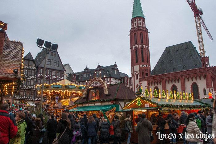 Mercado de Navidad de Fránkfurt