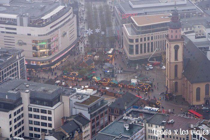 Vistas de Frankfurt desde la Main Tower