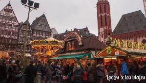 Römerberg en Frankfurt
