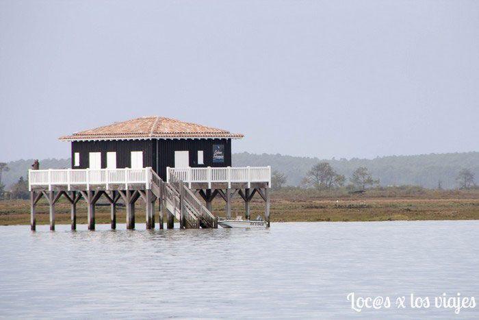 Bahía de Arcachon: cabañas tchanquées