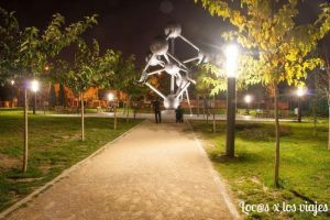 Parque Europa: Atomium