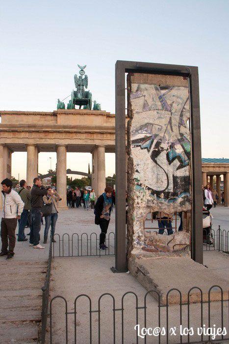 Parque Europa: Muro de Berlín