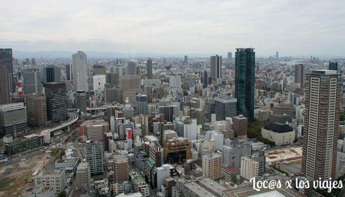 Vistas de Osaka desde el Umeda Sky Building