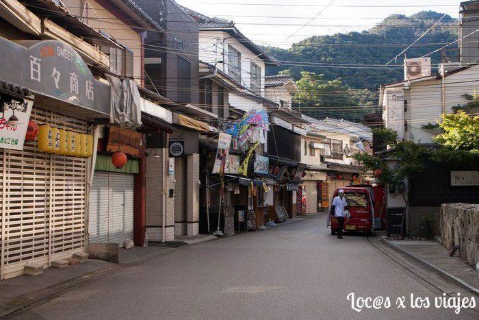 Calle principal de Miyajima
