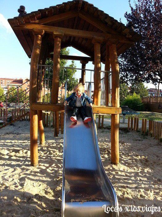 En el Parque del Barco Pirata