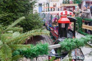 Trenecito en el mercado de Navidad de Heildeberg
