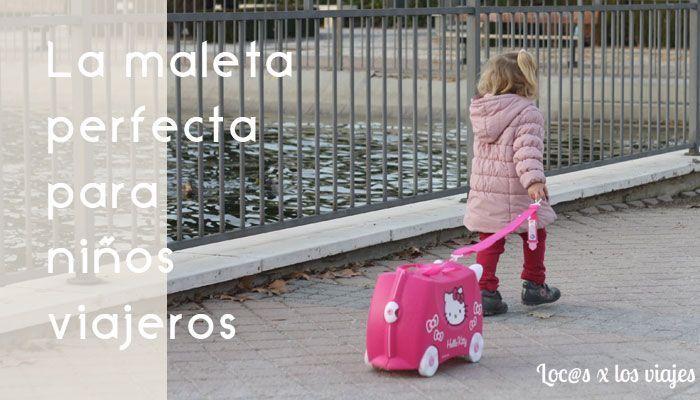 Maleta Trunki: maleta perfecta para niños viajeros