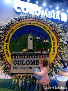Stand de Colombia