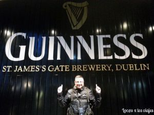 En la Guinness Storehouse
