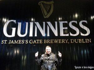 En la Guinness Storehouse