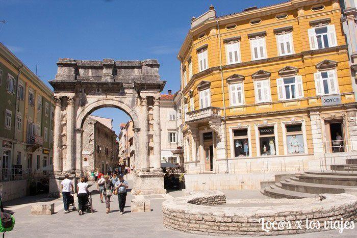 Pula: Arco del Triunfo de los Sergios