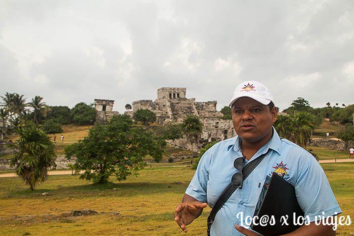 En Tulum con Daniel de Vida Maya Tours