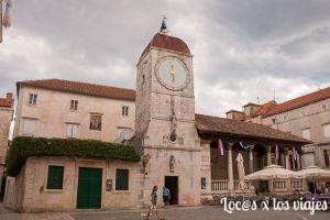 La Torre del Reloj de Trogir