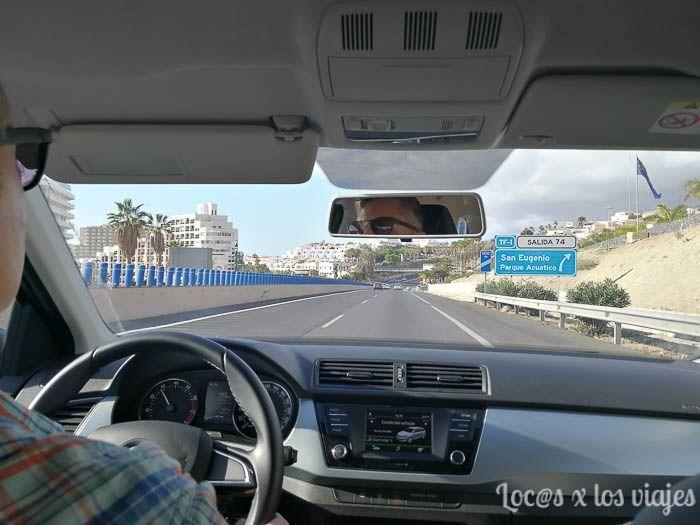 Alquilar coche en Tenerife