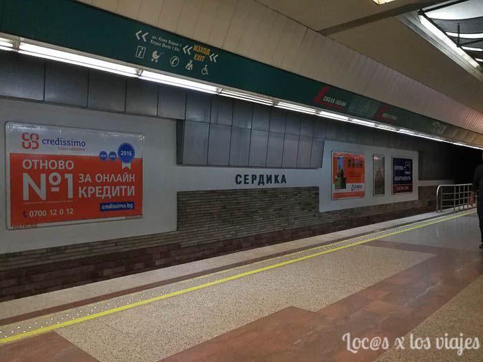 Bulgaria: Metro de Sofía