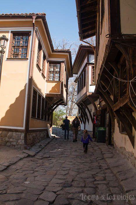 Calles del casco antiguo de Plovdiv