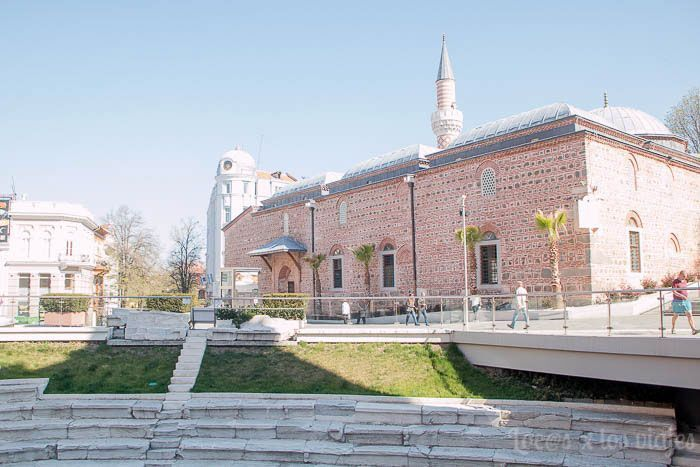 Plovdiv con niños: Estadio romano y Mezquita Dzhumaya