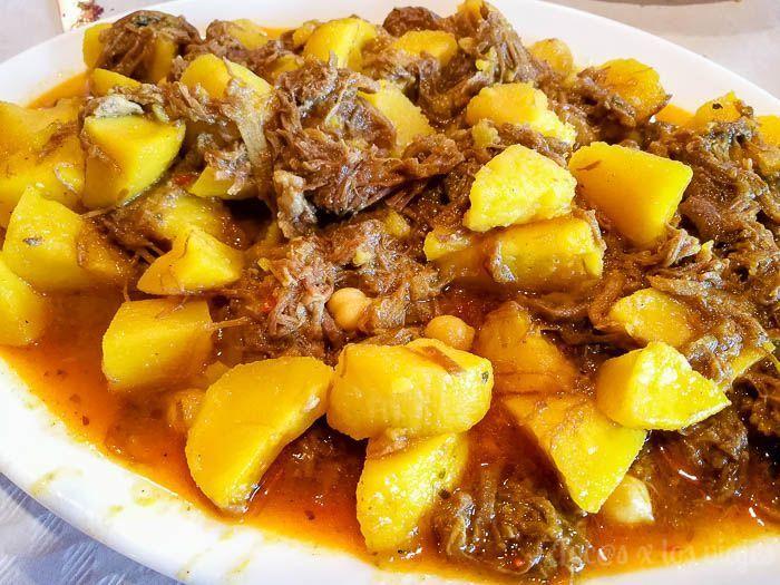 Gastronomía de Tenerife: Ropa Vieja