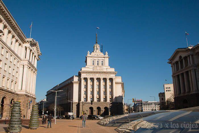 Casa del Partido Comunista en Sofía