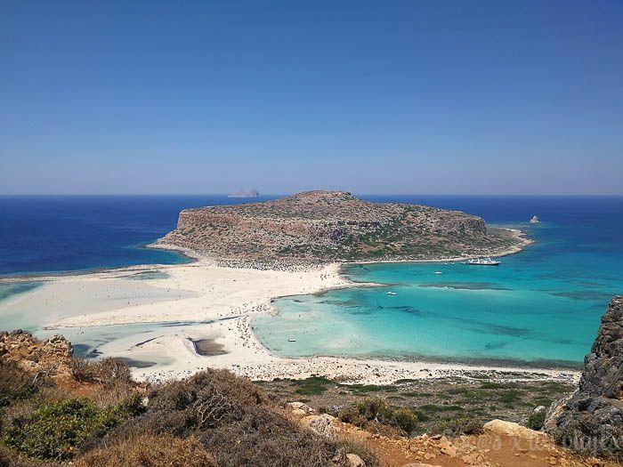 Grecia con niños: Playa de Balos