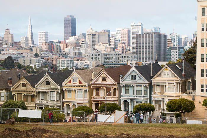 San Francisco: Painted Ladies