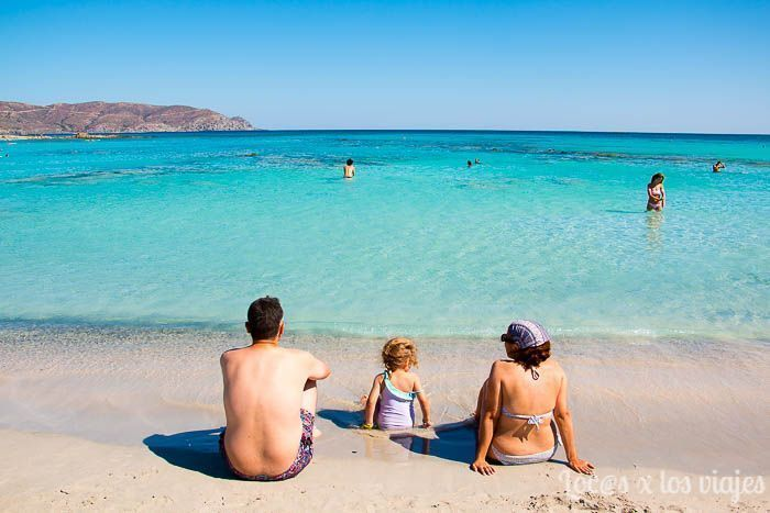 Tres días en Creta con coche de alquiler: Elafonisi