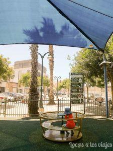 Israel con niños: Un parque de Tel Aviv