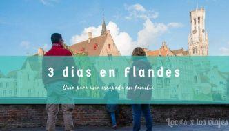 Guía para una escapada de tres días en Flandes con niños