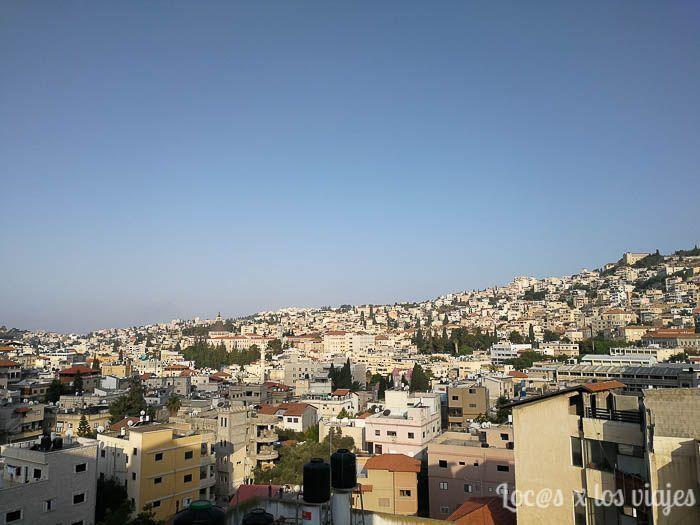Vistas desde el Hotel Rimonim Nazareth
