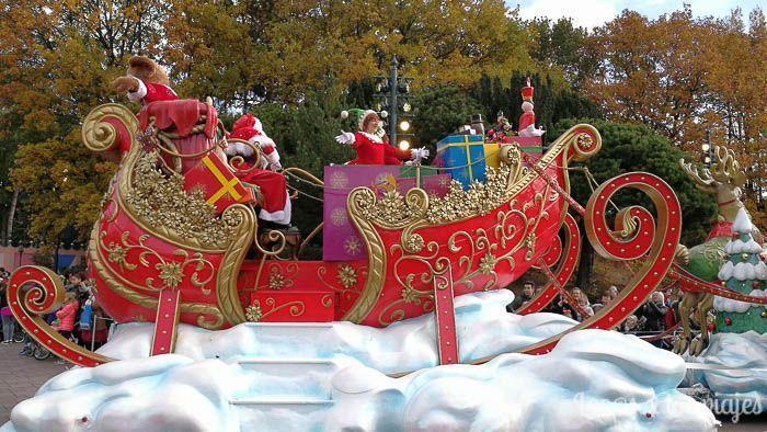 Desfile de Navidad en Disneyland París