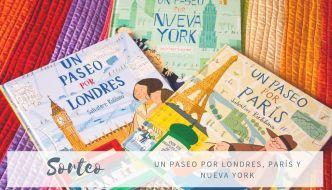 Un paseo por Londres, Nueva York y París con niños ¡¡¡SORTEO!!!
