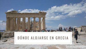 Dónde alojarse en Grecia