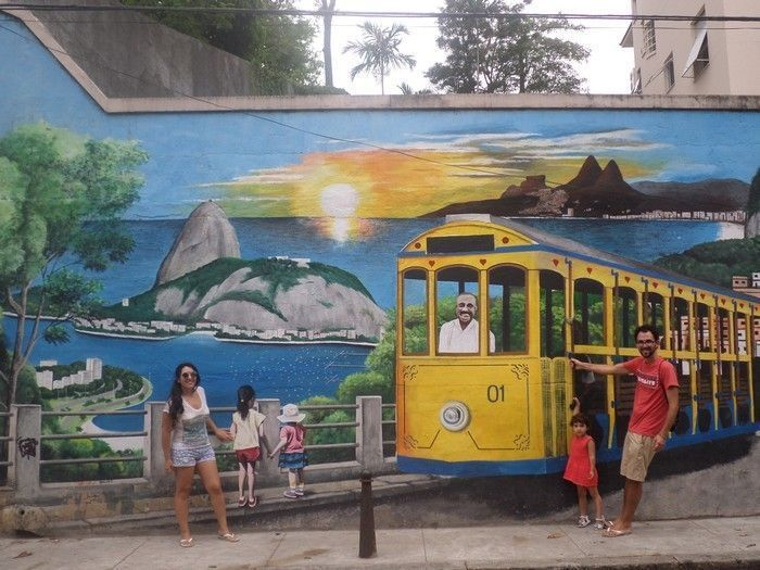 Maleta para tres en Brasil