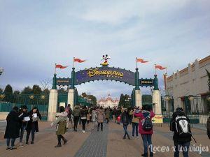 Entrada a Disneyland París