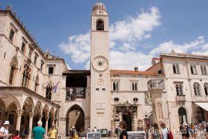 Dubrovnik: Plaza de Luza