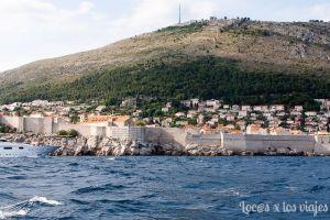 Dubrovnik desde el agua